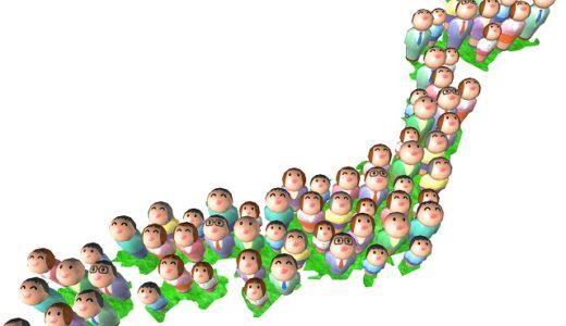 都道府県別の人口密度ランキング