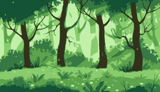 都道府県別の森林面積と人工林面積、その割合のランキング