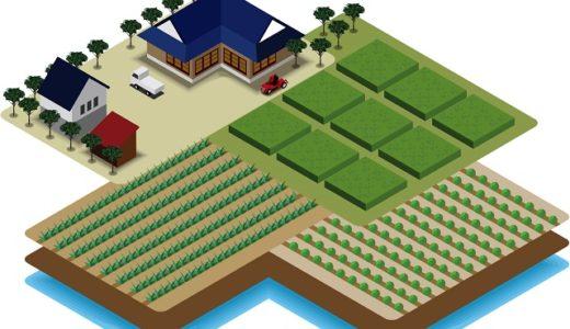 都道府県別の田と畑の面積ランキング